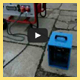 mixing pump UMP1 with rapid grout material